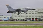 スカルショットさんが、静浜飛行場で撮影したアメリカ空軍 F-16CM-50-CF Fighting Falconの航空フォト(飛行機 写真・画像)