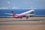 金魚さんが、中部国際空港で撮影したタイ・エアアジア・エックス A330-343Xの航空フォト(飛行機 写真・画像)