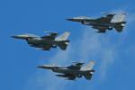 スカルショットさんが、三沢飛行場で撮影したアメリカ空軍 F-16DM-50-CF Fighting Falconの航空フォト(飛行機 写真・画像)