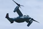 スカルショットさんが、岩国空港で撮影したアメリカ海兵隊 MV-22Bの航空フォト(飛行機 写真・画像)