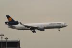 kuro2059さんが、香港国際空港で撮影したルフトハンザ・カーゴ MD-11Fの航空フォト(飛行機 写真・画像)