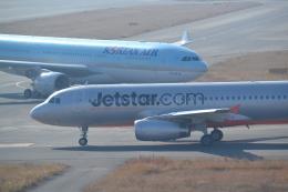 ヨッちゃんさんが、関西国際空港で撮影したジェットスター・アジア A320-232の航空フォト(飛行機 写真・画像)