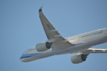 ヨッちゃんさんが、関西国際空港で撮影したチャイナエアライン A350-941XWBの航空フォト(飛行機 写真・画像)