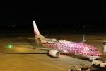 だいまる。さんが、岡山空港で撮影した日本トランスオーシャン航空 737-8Q3の航空フォト(飛行機 写真・画像)