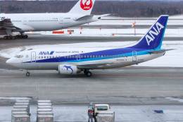 ぐっちーさんが、新千歳空港で撮影したANAウイングス 737-54Kの航空フォト(飛行機 写真・画像)