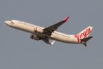 Koenig117さんが、シドニー国際空港で撮影したヴァージン・オーストラリア 737-8FEの航空フォト(飛行機 写真・画像)