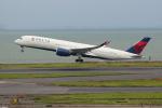 OMAさんが、羽田空港で撮影したデルタ航空 A350-941XWBの航空フォト(飛行機 写真・画像)