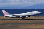 SIさんが、中部国際空港で撮影したチャイナエアライン 747-409の航空フォト(飛行機 写真・画像)