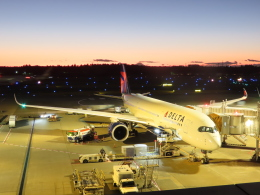 さんぜんさんが、成田国際空港で撮影したデルタ航空 A350-941の航空フォト(飛行機 写真・画像)