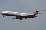 kuro2059さんが、新潟空港で撮影した遠東航空 MD-83 (DC-9-83)の航空フォト(飛行機 写真・画像)