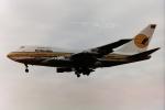 tassさんが、ロンドン・ヒースロー空港で撮影したナミビア航空 747SP-44の航空フォト(飛行機 写真・画像)