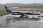 だだちゃ豆さんが、庄内空港で撮影した全日空 767-381/ERの航空フォト(飛行機 写真・画像)