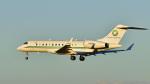 パンダさんが、成田国際空港で撮影したユタ銀行 BD-700 Global Express/5000/6000の航空フォト(飛行機 写真・画像)