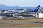 yousei-pixyさんが、福岡空港で撮影した全日空 787-8 Dreamlinerの航空フォト(飛行機 写真・画像)