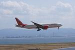 pringlesさんが、関西国際空港で撮影したエア・インディア 777-237/LRの航空フォト(写真)