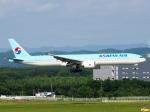 むらさめさんが、新千歳空港で撮影した大韓航空 777-3B5/ERの航空フォト(飛行機 写真・画像)