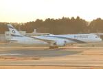 cassiopeiaさんが、成田国際空港で撮影したエル・アル航空 787-9の航空フォト(飛行機 写真・画像)