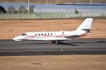 kumagorouさんが、仙台空港で撮影した朝日航洋 680 Citation Sovereignの航空フォト(飛行機 写真・画像)