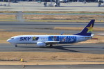 Espace77さんが、羽田空港で撮影したスカイマーク 737-86Nの航空フォト(飛行機 写真・画像)