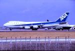キットカットさんが、成田国際空港で撮影した全日空 747SR-81の航空フォト(飛行機 写真・画像)