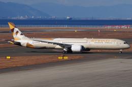 きんめいさんが、中部国際空港で撮影したエティハド航空 787-10の航空フォト(飛行機 写真・画像)