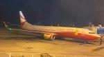 ユターさんが、青島流亭国際空港で撮影した雲南祥鵬航空 737-8ALの航空フォト(飛行機 写真・画像)