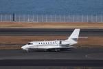 KAZFLYERさんが、羽田空港で撮影したノエビア 680 Citation Sovereignの航空フォト(飛行機 写真・画像)