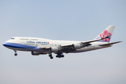こぐともさんが、福岡空港で撮影したチャイナエアライン 747-409の航空フォト(飛行機 写真・画像)