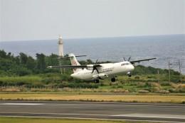 乗り物大好きライター・ヨッシーさんが、沖永良部空港で撮影した日本エアコミューター ATR-72-600の航空フォト(飛行機 写真・画像)