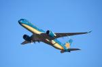 Co-pilootjeさんが、成田国際空港で撮影したベトナム航空 A350-941XWBの航空フォト(飛行機 写真・画像)