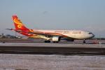 北の熊さんが、新千歳空港で撮影した香港航空 A330-223の航空フォト(飛行機 写真・画像)