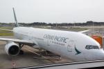 panchiさんが、成田国際空港で撮影したキャセイパシフィック航空 777-367の航空フォト(飛行機 写真・画像)