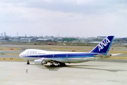 しゅあさんが、伊丹空港で撮影した全日空 747-281Bの航空フォト(飛行機 写真・画像)
