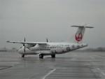 乗り物大好きライター・ヨッシーさんが、鹿児島空港で撮影した北海道エアシステム ATR-42-600の航空フォト(飛行機 写真・画像)
