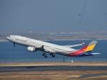 空が大好き!さんが、羽田空港で撮影したアシアナ航空 A330-323Xの航空フォト(飛行機 写真・画像)