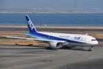 空が大好き!さんが、羽田空港で撮影した全日空 777-281の航空フォト(飛行機 写真・画像)