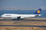 空が大好き!さんが、羽田空港で撮影したルフトハンザドイツ航空 747-830の航空フォト(飛行機 写真・画像)