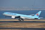 空が大好き!さんが、羽田空港で撮影した大韓航空 777-2B5/ERの航空フォト(飛行機 写真・画像)