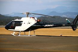 myoumyoさんが、天草飛行場で撮影した東邦航空 AS350B Ecureuilの航空フォト(飛行機 写真・画像)
