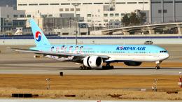FlyingMonkeyさんが、仁川国際空港で撮影した大韓航空 777-3B5/ERの航空フォト(飛行機 写真・画像)
