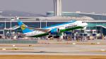 FlyingMonkeyさんが、仁川国際空港で撮影したウズベキスタン航空 787-8 Dreamlinerの航空フォト(飛行機 写真・画像)