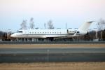 北の熊さんが、新千歳空港で撮影したアストロ・エア CL-600-2B19 Challenger 850の航空フォト(飛行機 写真・画像)