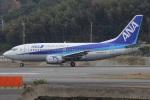 MOR1(新アカウント)さんが、福岡空港で撮影したANAウイングス 737-54Kの航空フォト(飛行機 写真・画像)