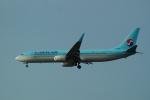 FRTさんが、福岡空港で撮影した大韓航空 737-9B5/ER の航空フォト(飛行機 写真・画像)