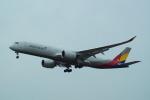 FRTさんが、福岡空港で撮影したアシアナ航空 A350-941XWBの航空フォト(飛行機 写真・画像)