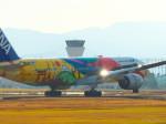 MASACHANさんが、宮崎空港で撮影した全日空 777-281/ERの航空フォト(飛行機 写真・画像)