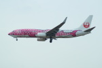 FRTさんが、福岡空港で撮影した日本トランスオーシャン航空 737-8Q3の航空フォト(飛行機 写真・画像)