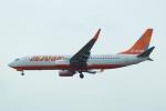FRTさんが、福岡空港で撮影したチェジュ航空 737-8JPの航空フォト(飛行機 写真・画像)