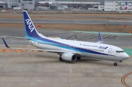 ゆう改めてさんが、福岡空港で撮影した全日空 737-881の航空フォト(飛行機 写真・画像)