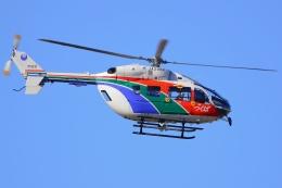 うとPさんが、福島空港で撮影した茨城県防災航空隊 BK117C-2の航空フォト(飛行機 写真・画像)